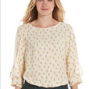 NWOT LC Lauren Conrad blouse.